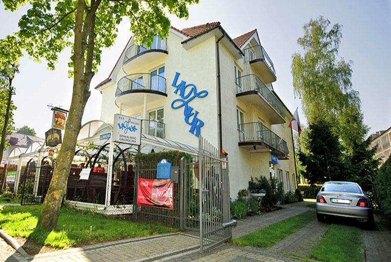 Pensjonat Lazur w Mielnie
