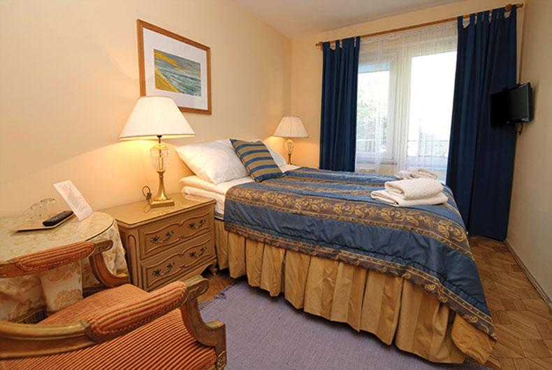 Komfortowe pokoje i apartamenty rodzinne
